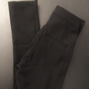 Tailored skinny trousers with side zipper